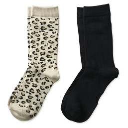 Cheetah Crew Sock