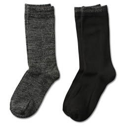 Metallic Crew Sock